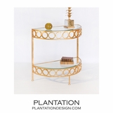 Estelle Console Table | Gold