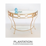 Helen Console Table | Gold