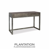 Matson Zinc Console Table