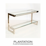 Noah Console Table | Nickel