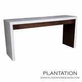 Todd Console Table, Two-tone