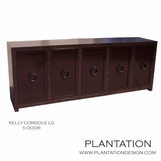 Kelly Cabinet, Stained