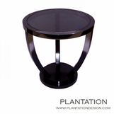 Deco Side Table | Glass