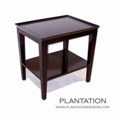 Falcon Side Table, Stained