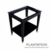 Falcon Side Table, Glass