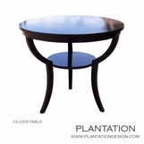 Oliver Side Table | Ebony