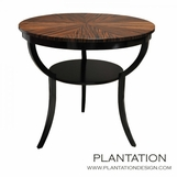 Oliver Table, Macassar Starburst