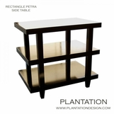 Petra Side Table | Rectangular