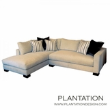 Studio Sectional w/Chaise | No. 1