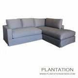 Studio Skirted Sectional w/Chaise