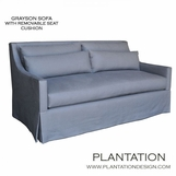 Grayson Sofa, Skirted