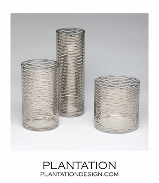 Double-Crossed Vases | Silver