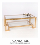 Artemis Coffee Table | Gold