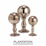 Finial Spheres Set | Mercury
