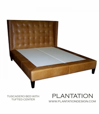 Tuscadero Tufted Bed