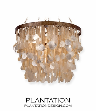 Lillian Shell Chandeliers