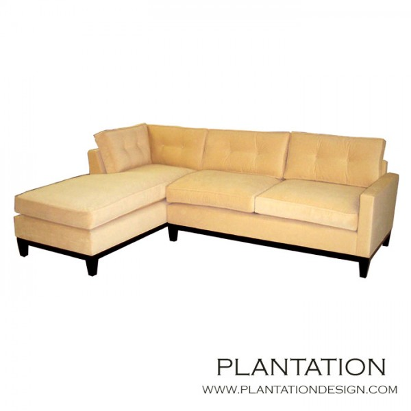 Soho Tufted Sofa Sectional w/Chaise  sc 1 st  Plantation Design : soho tufted sectional - Sectionals, Sofas & Couches