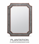 Patterson Wall Mirror | Grey