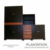 Greenroom 5-Piece Cabinet