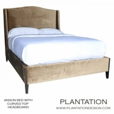 Anson Bed   Curved Headboard No. 1