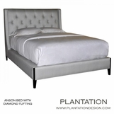 Anson Bed, Tufted