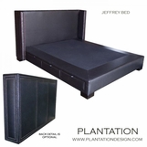 Jeffrey Storage Bed
