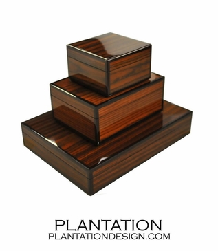 Lacquered Boxes   Rosewood