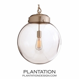 Globe Large Pendant | Nickel