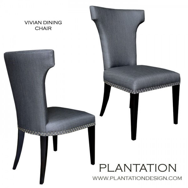Vivian Side Chair  sc 1 st  Plantation Design : what is a side chair - Cheerinfomania.Com