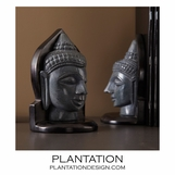 Harmony Buddha Bookends