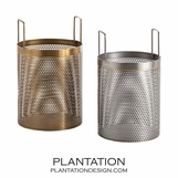 Allain Metal Baskets Set