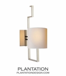 Landon Sconce | Polished Nickel