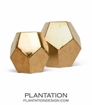 Polyhedron Objects Set | Gold