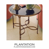 Belvedere Side Table | Large Brass
