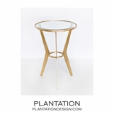 Rocket Side Table | Gold