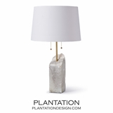 Gypsum Table Lamp
