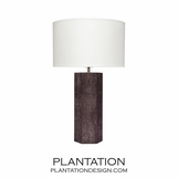 Mathison Leather Table Lamps | Brown