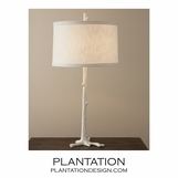 Redwood Table Lamp | White