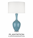 Hepburn Table Lamp | Blue
