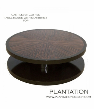 Cantilever Coffee Table | Round