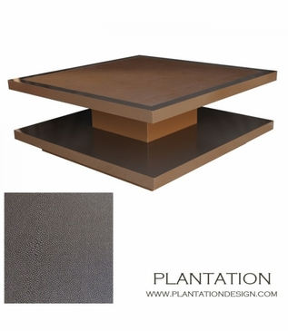 Cantilever Coffee Table Inlay Plantation