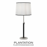 Carlton Table Lamp | Aged Nickel