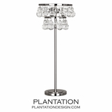 Flair Table Lamp | Polished Nickel
