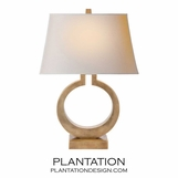 O Lamp | Antiqued Brass