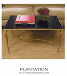 Parliament Coffee Table | Brass