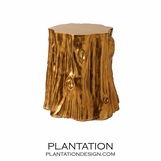 Trunk Stool | Golden Brown
