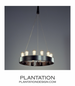 Eveleigh Chandeliers | Dark Bronze