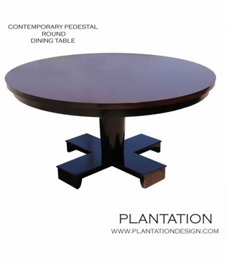Croft Round Dining Table