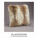 "Exotique ""Fur"" Pillows 