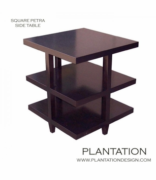 Petra Side Table, Square
